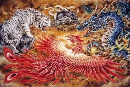 55天龙八部私服发布网左青龙、右白虎、前朱雀、后玄武,那中间是个什么?很少有人知道