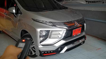 新提的2020款三菱Xpander,按下钥匙LED大灯亮起,才知道有多惊艳