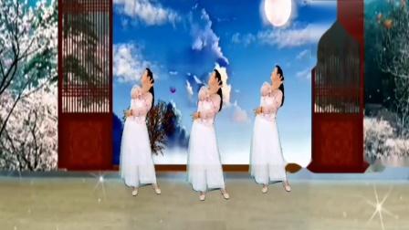 飘飘广场舞 零基础芭蕾形体舞《肩上的云》编舞;花飘飘 完整版