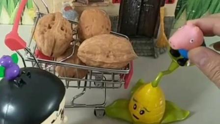育儿幼教亲子玩具:僵尸吃了乔治的大核桃