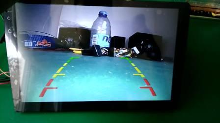 华科智联 大屏安卓智能导航仪高清倒车后视效果视频