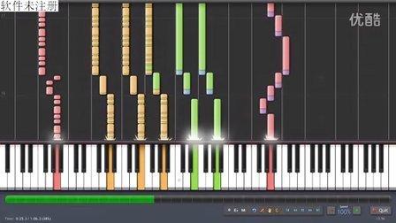 钢琴版RMVX自带音乐-battle2