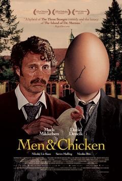 男人与鸡剧照