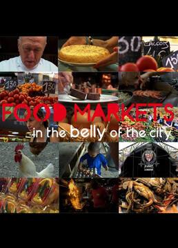 在城市腹地的食物市场剧照